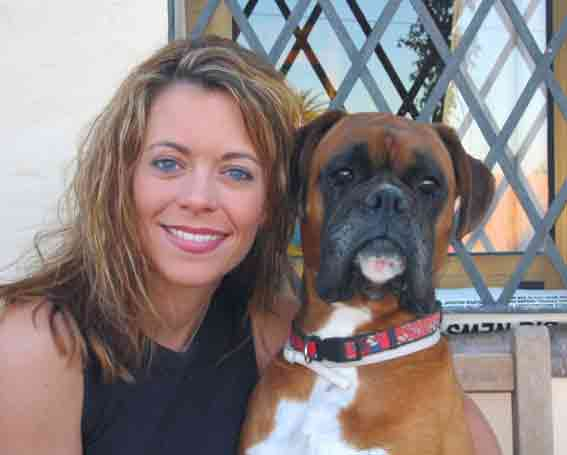 lisa and boxer